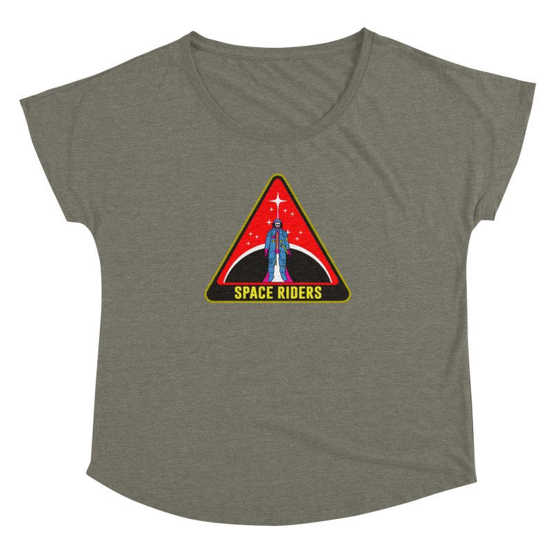 Space Riders - Patch  Women's Dolman by aziritt's Artist Shop