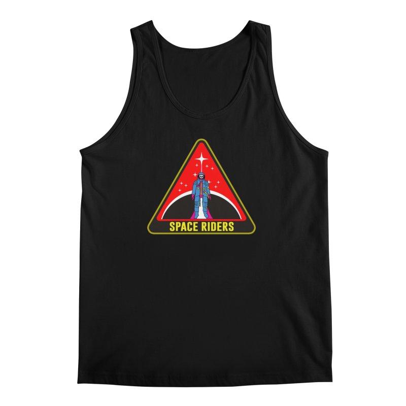 Space Riders - Patch  Men's Regular Tank by Alexis Ziritt