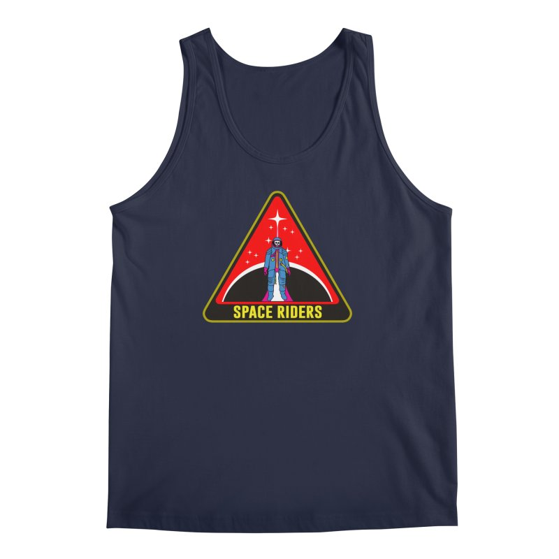 Space Riders - Patch  Men's Regular Tank by aziritt's Artist Shop