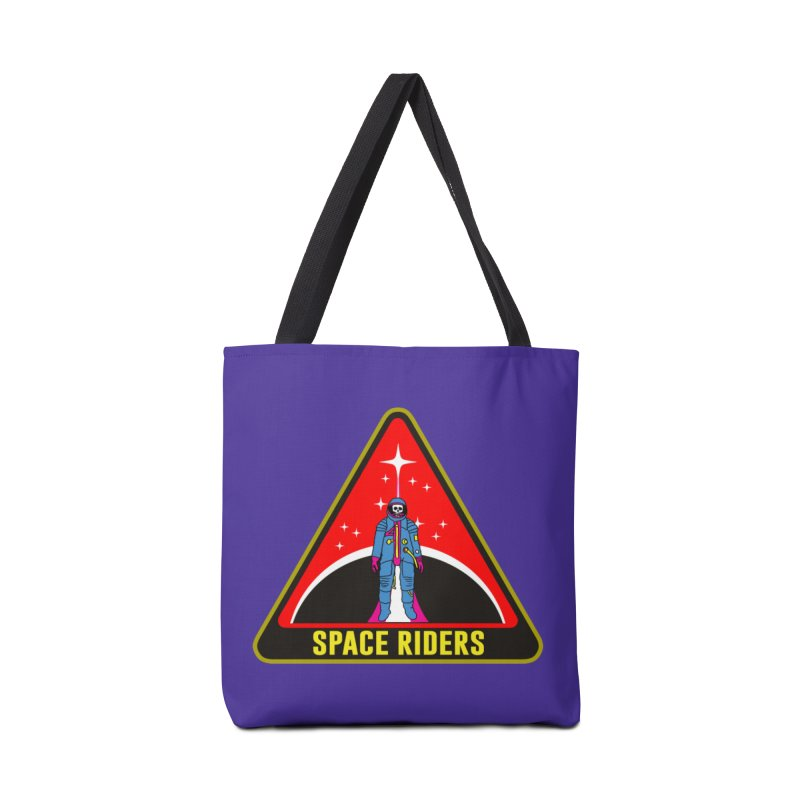 Space Riders - Patch  Accessories Tote Bag Bag by Alexis Ziritt