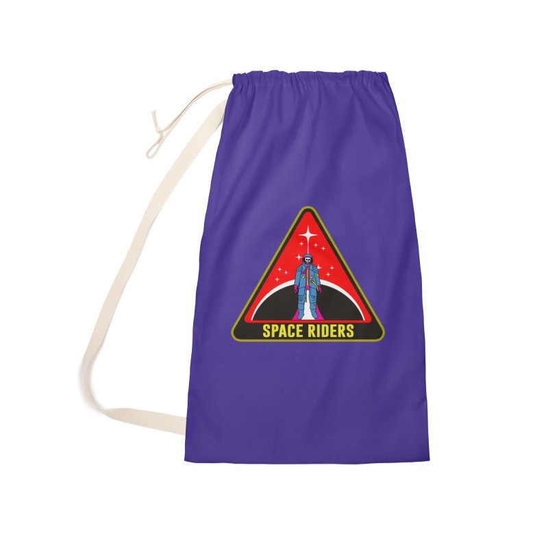 Space Riders - Patch  Accessories Laundry Bag Bag by Alexis Ziritt