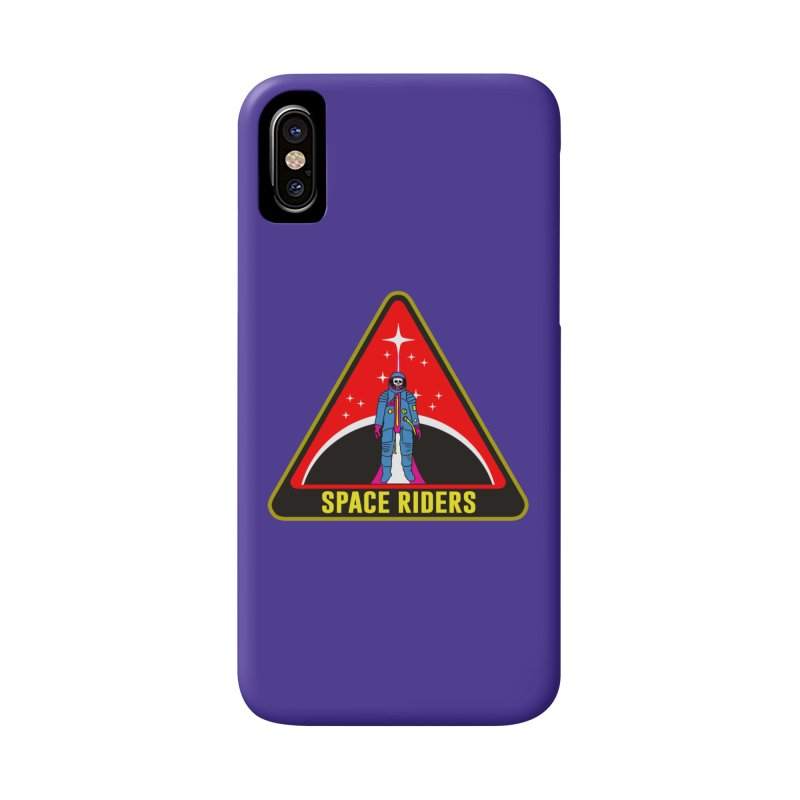 Space Riders - Patch  Accessories Phone Case by aziritt's Artist Shop