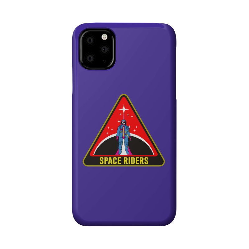 Space Riders - Patch  Accessories Phone Case by Alexis Ziritt