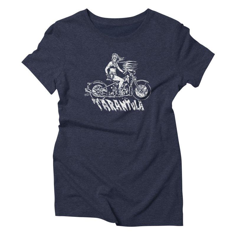 TARANTULA vintage Women's Triblend T-Shirt by aziritt's Artist Shop