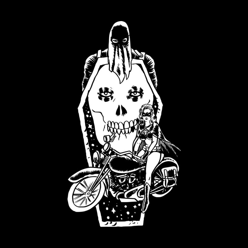 TARANTULA coffin  Men's T-Shirt by Alexis Ziritt