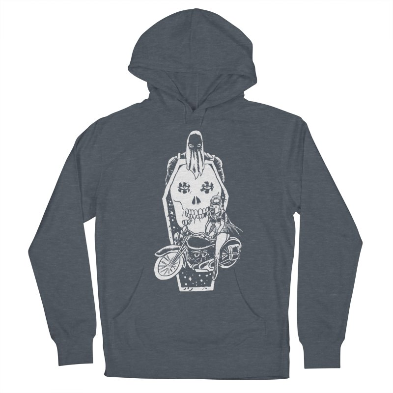 TARANTULA coffin  Men's French Terry Pullover Hoody by Alexis Ziritt