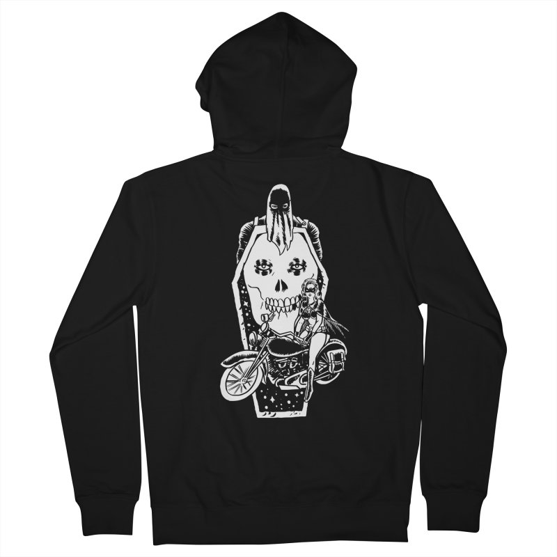 TARANTULA coffin  Men's Zip-Up Hoody by aziritt's Artist Shop