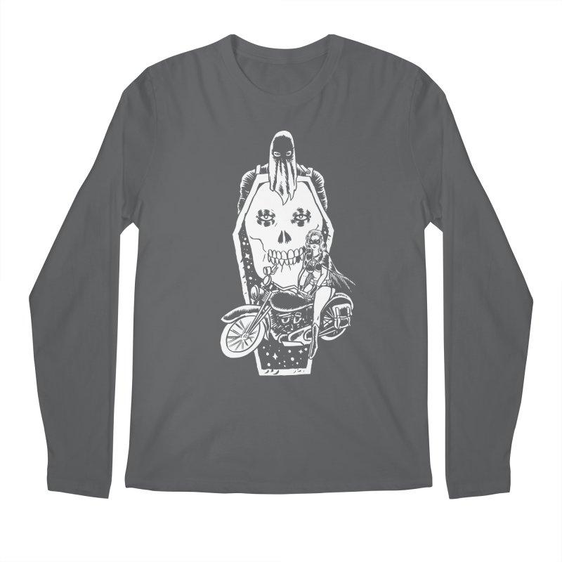 TARANTULA coffin  Men's Regular Longsleeve T-Shirt by aziritt's Artist Shop
