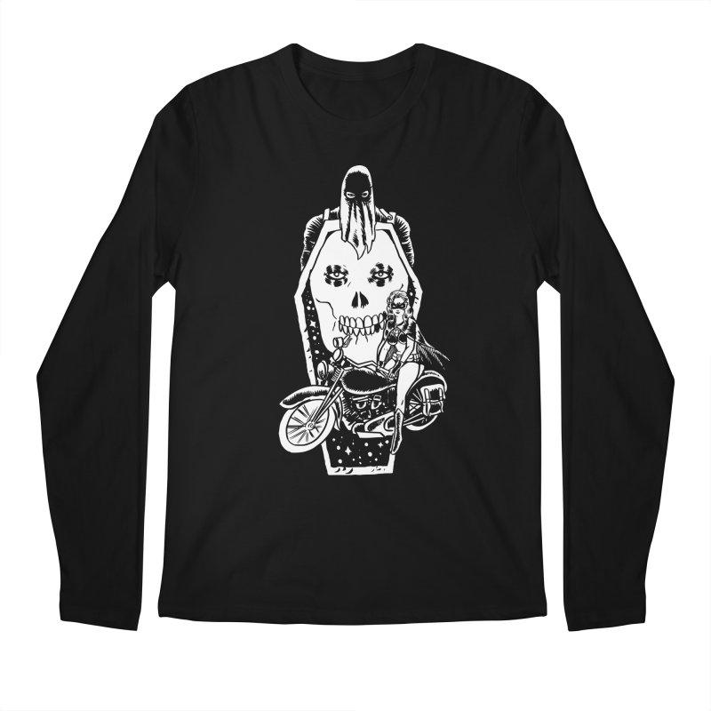 TARANTULA coffin  Men's Longsleeve T-Shirt by aziritt's Artist Shop