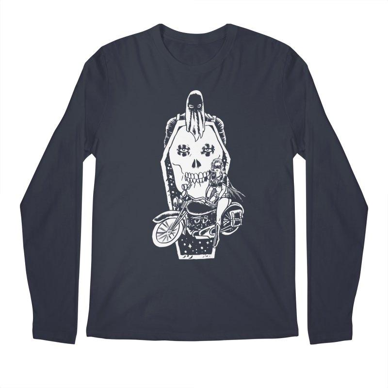 TARANTULA coffin  Men's Regular Longsleeve T-Shirt by Alexis Ziritt