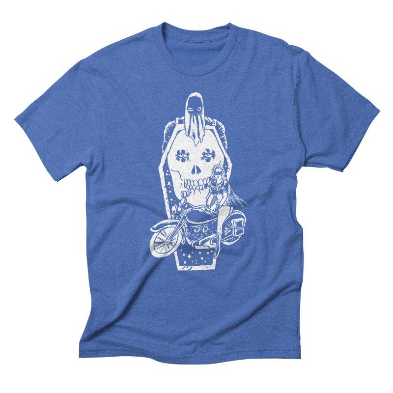 TARANTULA coffin  Men's Triblend T-Shirt by Alexis Ziritt