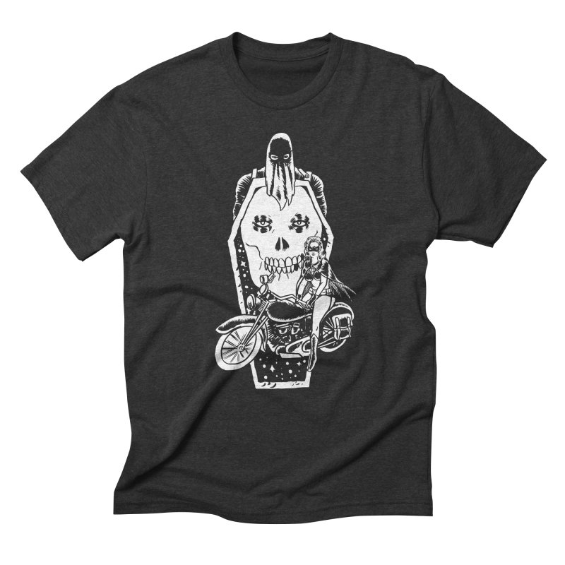 TARANTULA coffin  Men's Triblend T-Shirt by aziritt's Artist Shop