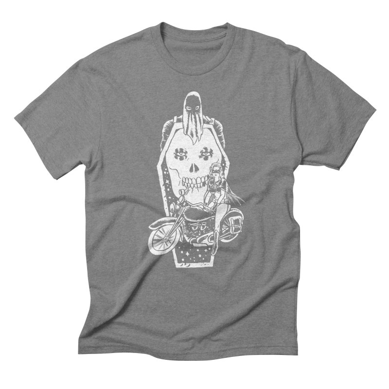 TARANTULA coffin  Men's Triblend T-Shirt by aziritt's Artist Shop