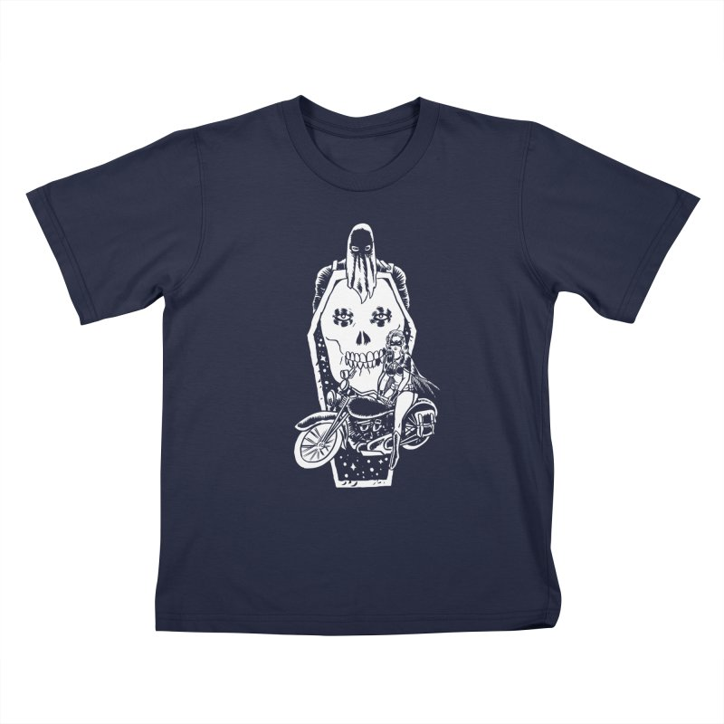 TARANTULA coffin  Kids T-Shirt by Alexis Ziritt