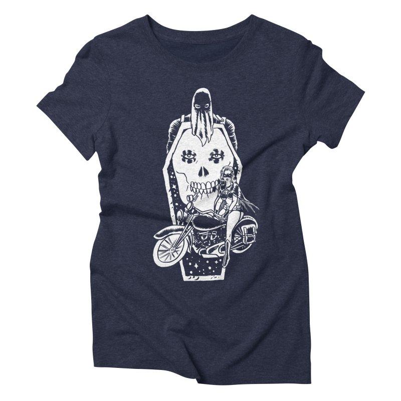 TARANTULA coffin  Women's Triblend T-Shirt by Alexis Ziritt