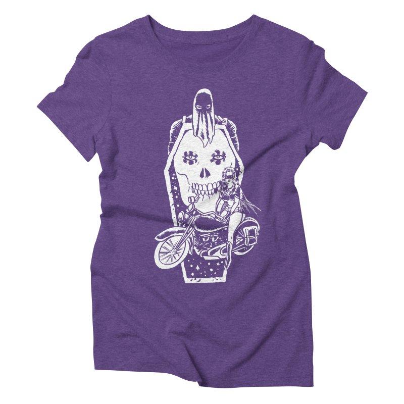 TARANTULA coffin  Women's Triblend T-shirt by aziritt's Artist Shop