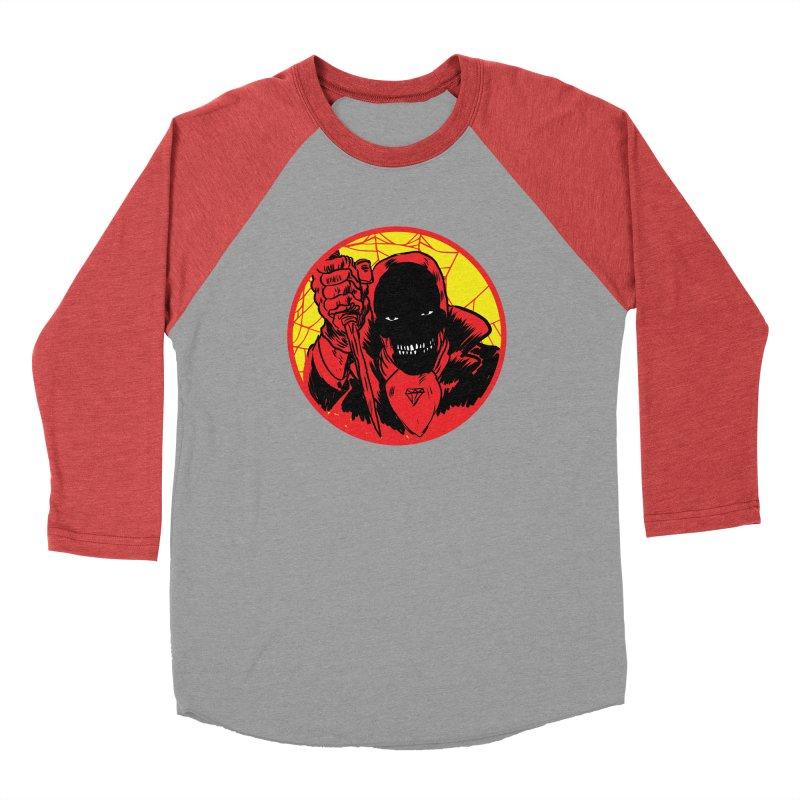 Señor Muerte Women's Baseball Triblend Longsleeve T-Shirt by Alexis Ziritt