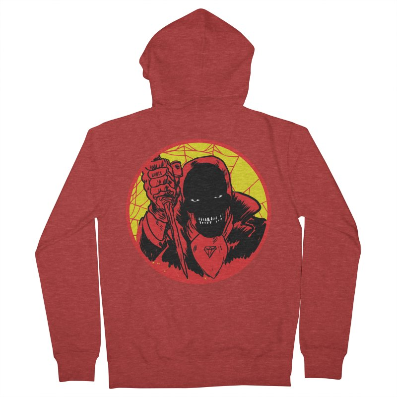 Señor Muerte Women's French Terry Zip-Up Hoody by aziritt's Artist Shop