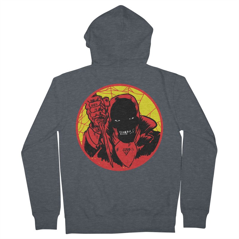 Señor Muerte Men's Zip-Up Hoody by aziritt's Artist Shop