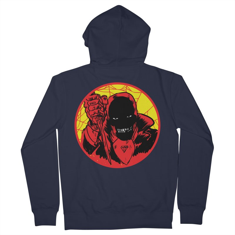 Señor Muerte Men's French Terry Zip-Up Hoody by Alexis Ziritt