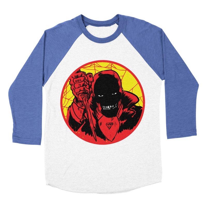 Señor Muerte Women's Baseball Triblend T-Shirt by aziritt's Artist Shop
