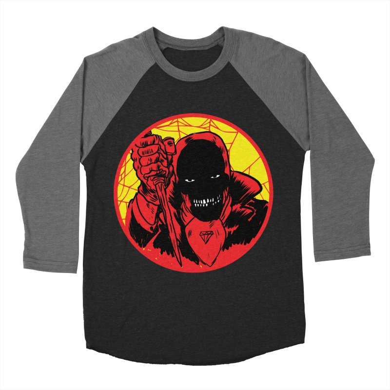 Señor Muerte Women's Baseball Triblend Longsleeve T-Shirt by aziritt's Artist Shop