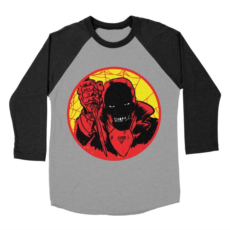 Señor Muerte Men's Baseball Triblend Longsleeve T-Shirt by aziritt's Artist Shop