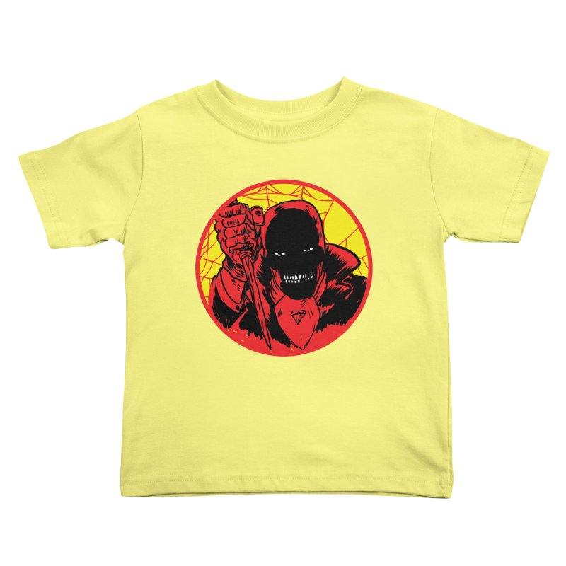 Señor Muerte Kids Toddler T-Shirt by aziritt's Artist Shop