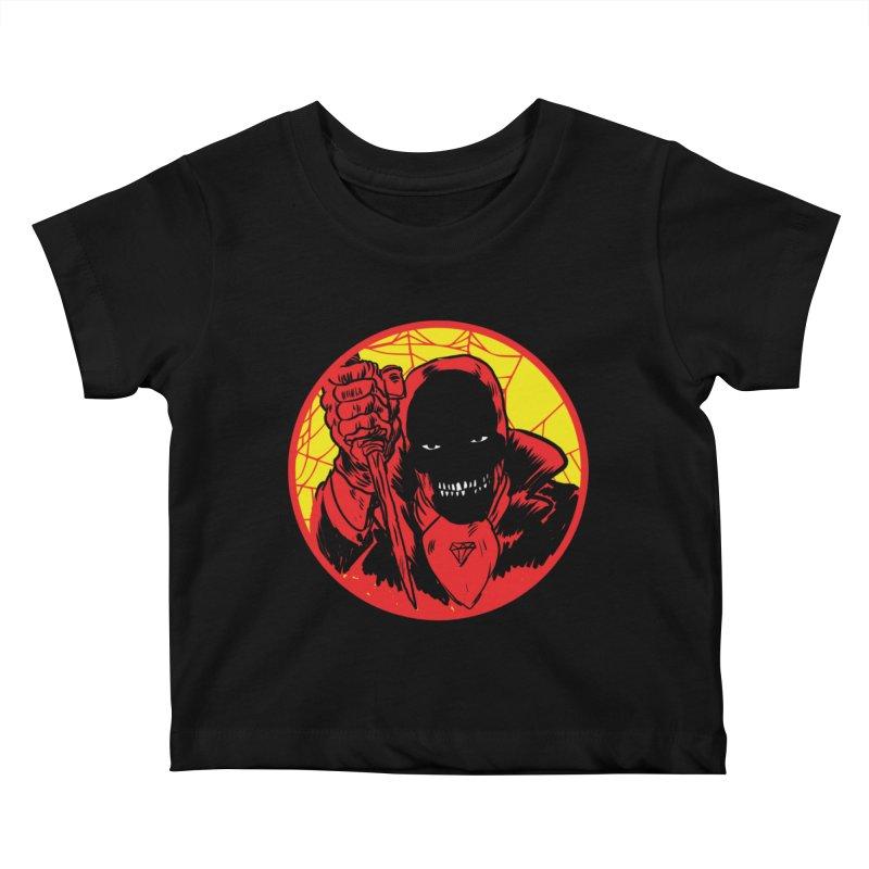 Señor Muerte Kids Baby T-Shirt by Alexis Ziritt