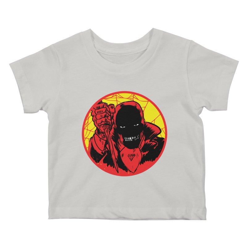 Señor Muerte Kids Baby T-Shirt by aziritt's Artist Shop