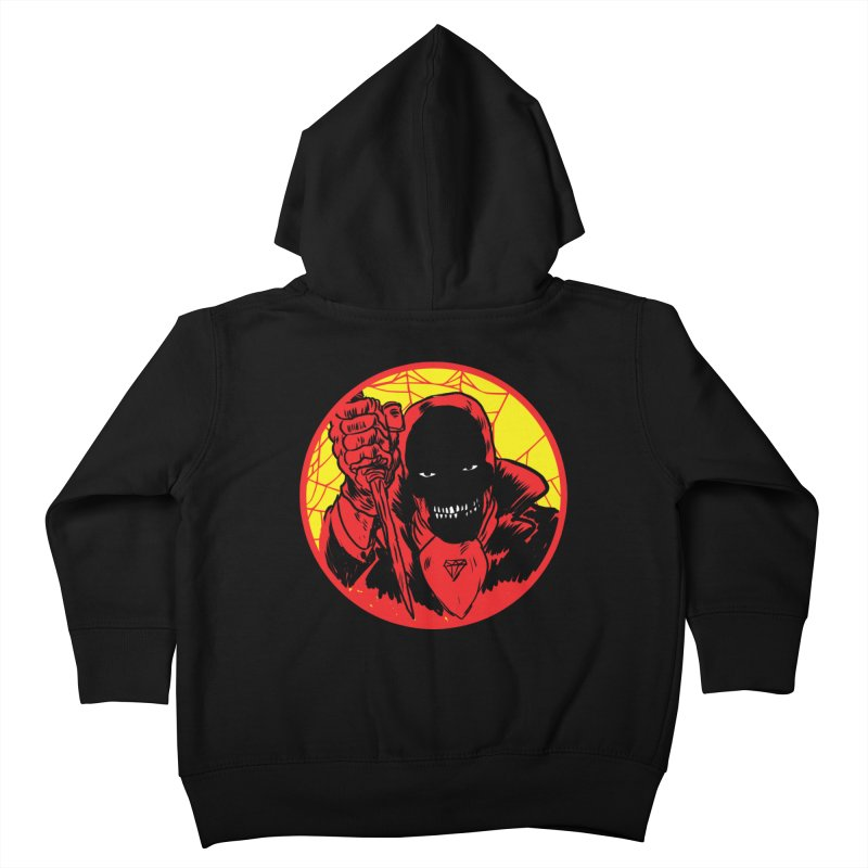 Señor Muerte Kids Toddler Zip-Up Hoody by Alexis Ziritt
