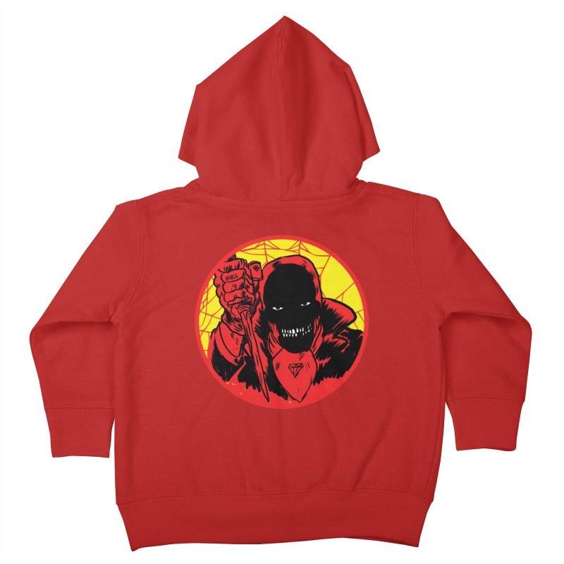 Señor Muerte Kids Toddler Zip-Up Hoody by aziritt's Artist Shop