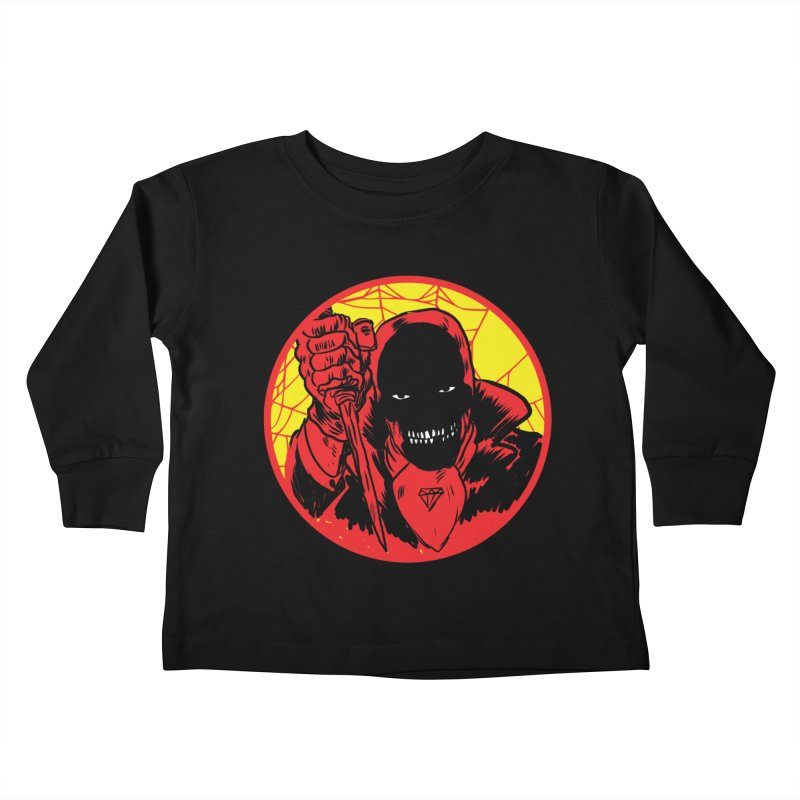 Señor Muerte Kids Toddler Longsleeve T-Shirt by aziritt's Artist Shop