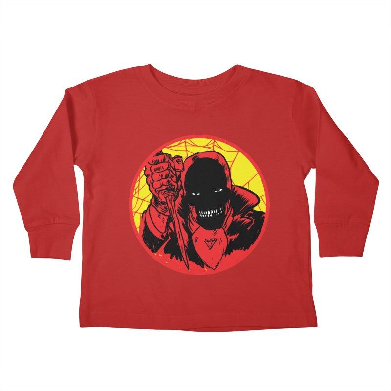 Señor Muerte Kids Toddler Longsleeve T-Shirt by aziritt's Artist Shop