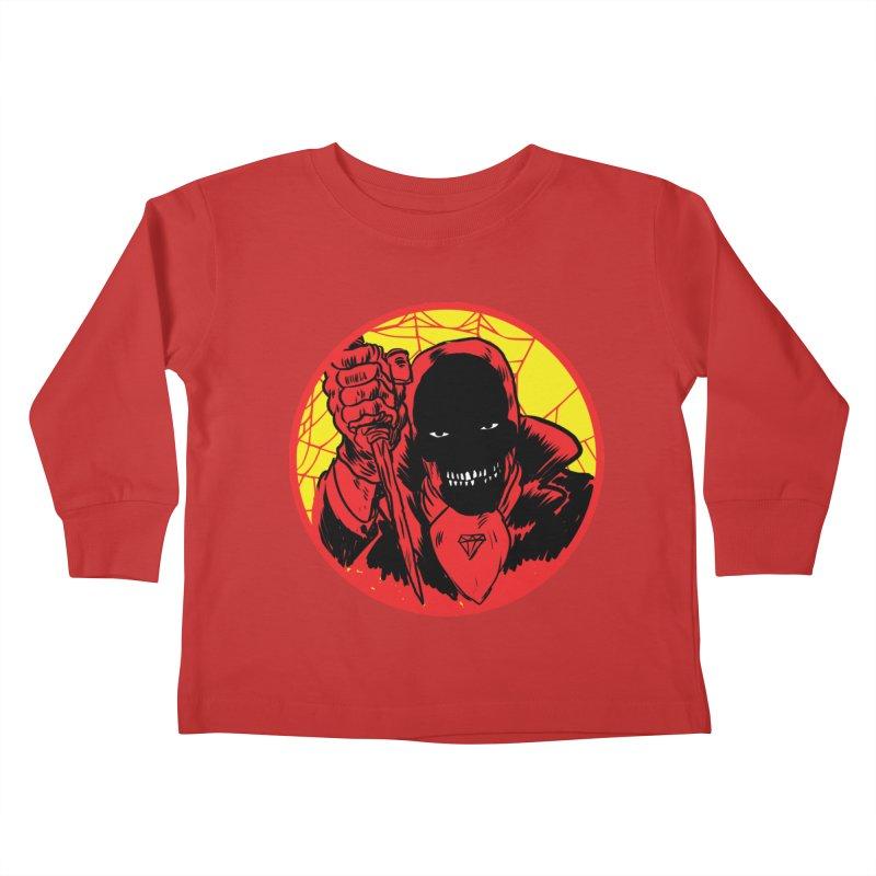 Señor Muerte Kids Toddler Longsleeve T-Shirt by Alexis Ziritt