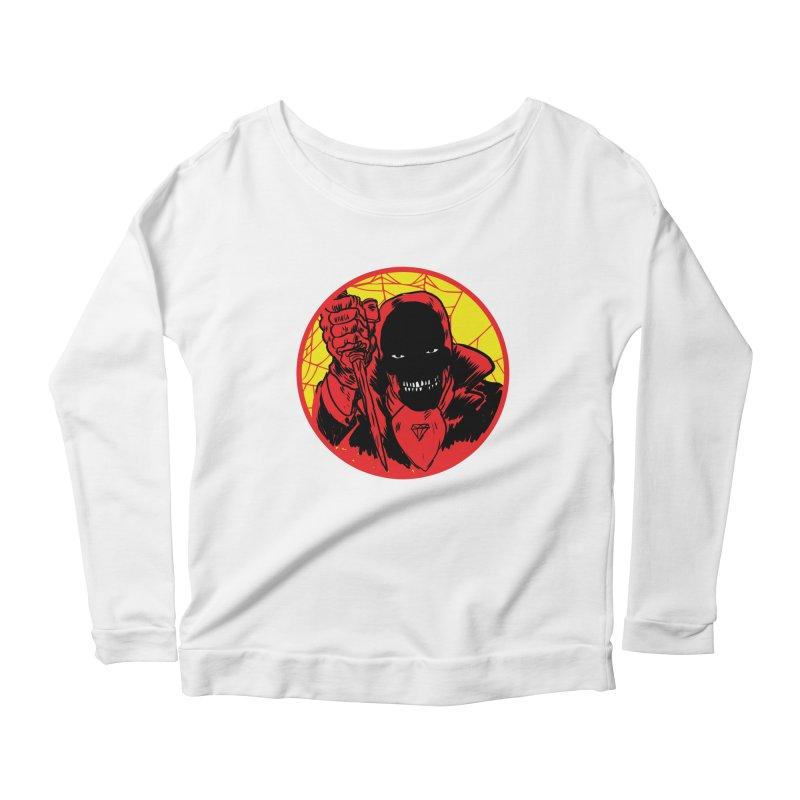 Señor Muerte Women's Scoop Neck Longsleeve T-Shirt by aziritt's Artist Shop