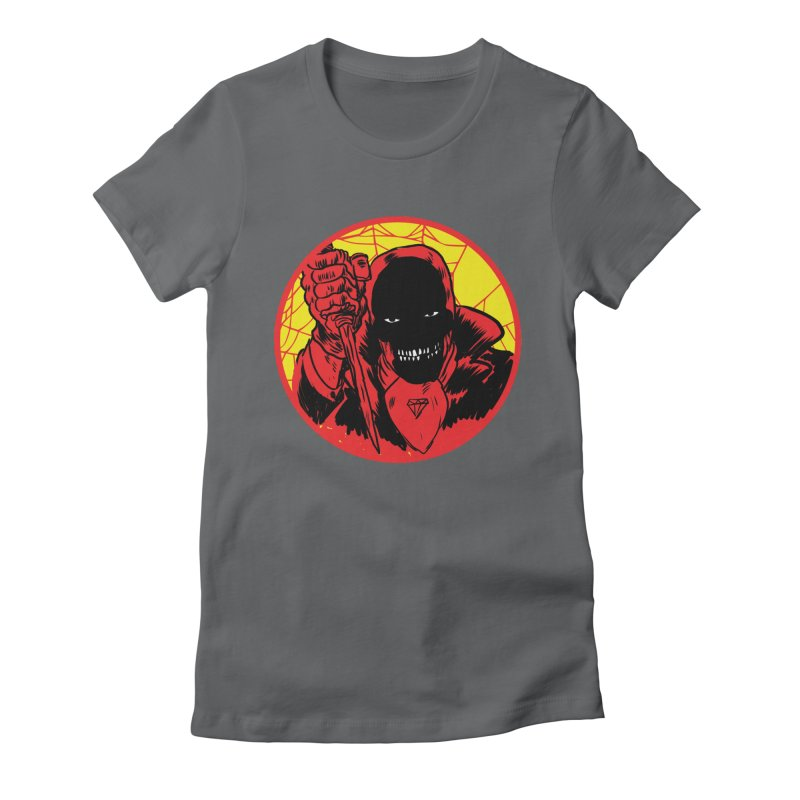 Señor Muerte Women's Fitted T-Shirt by aziritt's Artist Shop