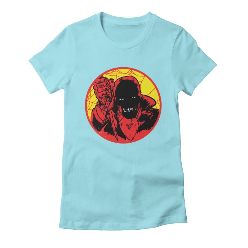 Señor Muerte Women's Fitted T-Shirt by Alexis Ziritt