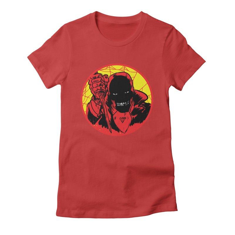 Señor Muerte Women's Fitted T-Shirt by Alexis Ziritt