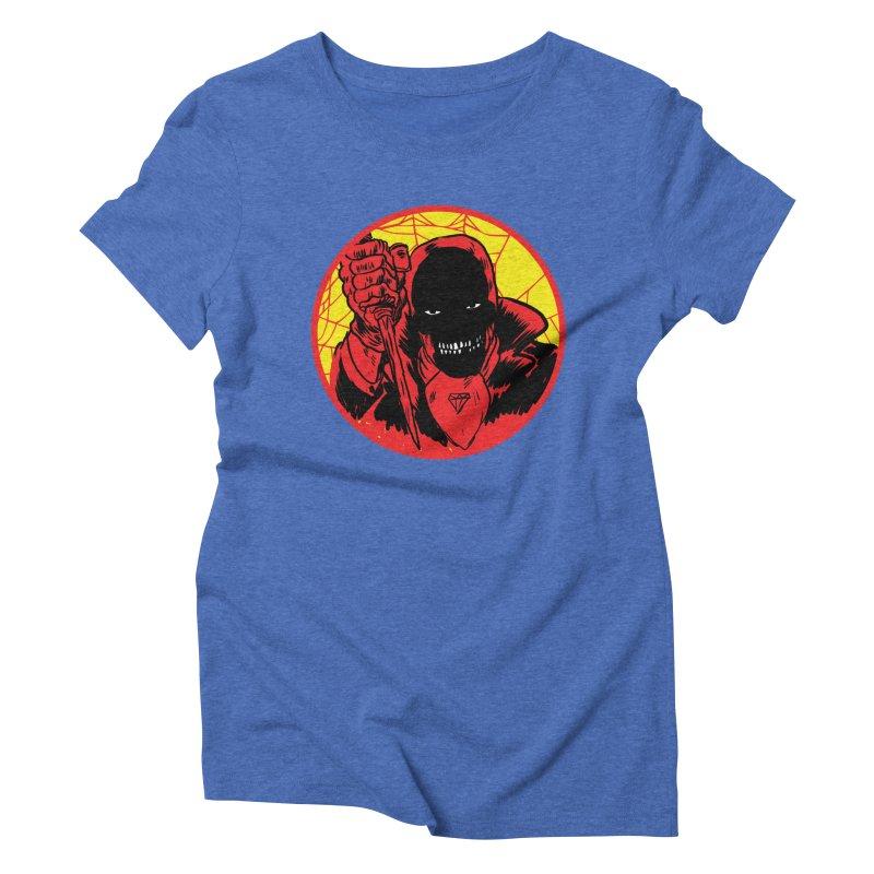 Señor Muerte Women's Triblend T-Shirt by aziritt's Artist Shop