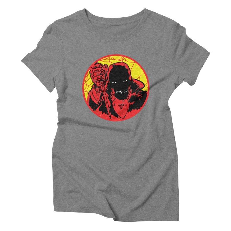 Señor Muerte Women's Triblend T-Shirt by Alexis Ziritt