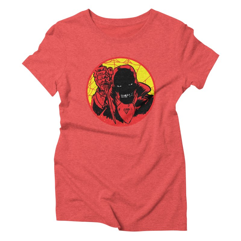 Señor Muerte Women's Triblend T-shirt by aziritt's Artist Shop