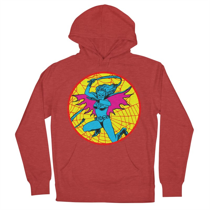 Tarantula Women's French Terry Pullover Hoody by Alexis Ziritt