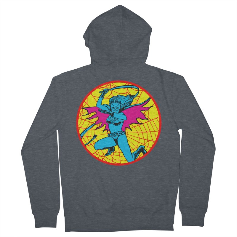 Tarantula Women's French Terry Zip-Up Hoody by aziritt's Artist Shop