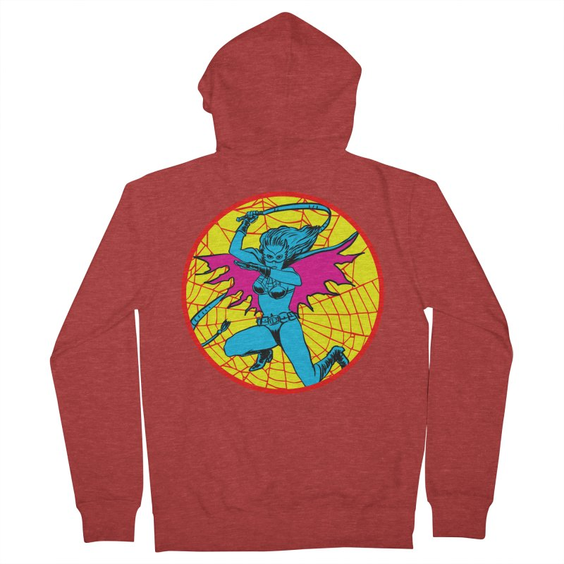Tarantula Men's French Terry Zip-Up Hoody by Alexis Ziritt