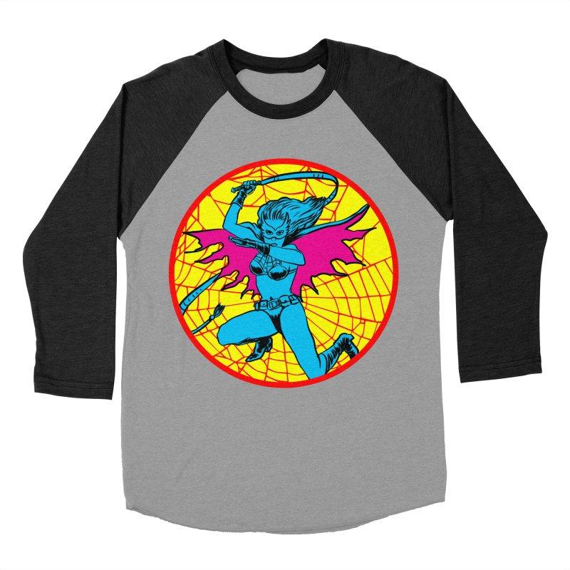 Tarantula Women's Baseball Triblend Longsleeve T-Shirt by Alexis Ziritt