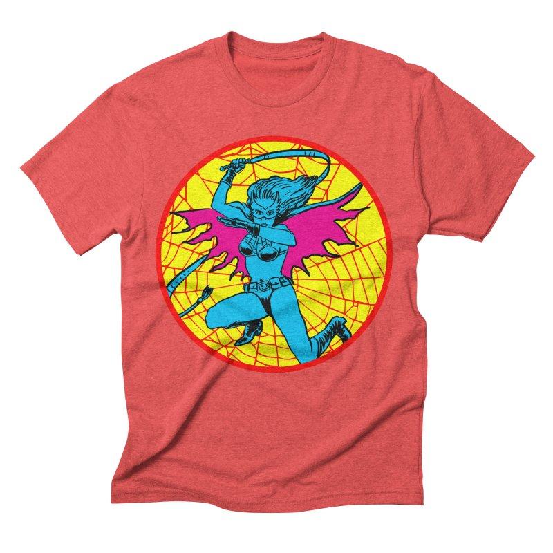 Tarantula Men's Triblend T-shirt by aziritt's Artist Shop