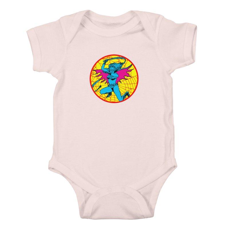 Tarantula Kids Baby Bodysuit by aziritt's Artist Shop