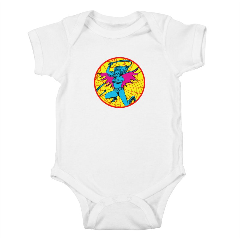 Tarantula Kids Baby Bodysuit by Alexis Ziritt
