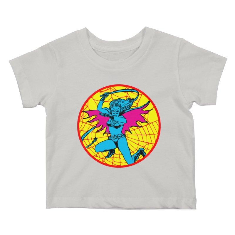 Tarantula Kids Baby T-Shirt by aziritt's Artist Shop